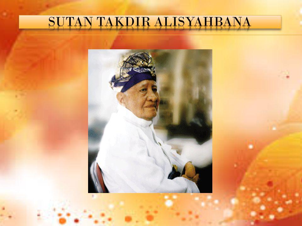 Sutan Takdir Alisjahbana (STA) lahir di Natal, Sumatera Utara, 11 Februari 1908.