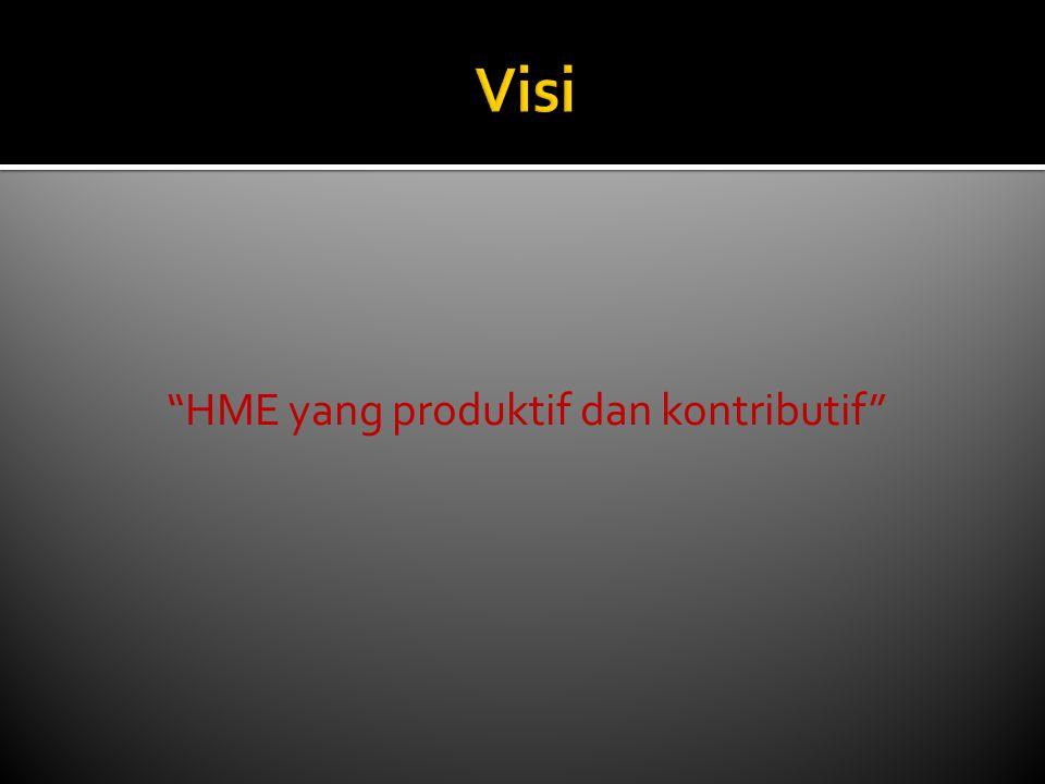 HME yang produktif dan kontributif