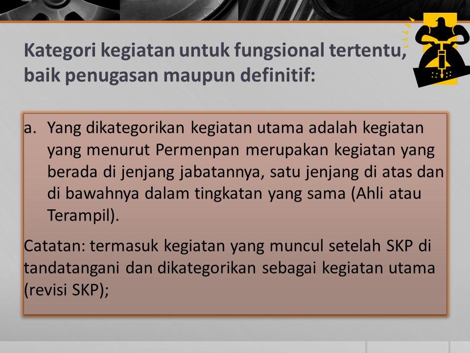 SKP yang telah disepakati digunakan sebagai acuan untuk menyusun Capaian Kinerja Pegawai (CKP) Target Tahunan Didisagregasi menjadi bulanan, sesuai dengan jenis/Jadual/ kegiatannya Hasil CKP (bulanan) sebagai evaluasi pelaksanaan SKP Secara akumulasi hasil CKP tidak jauh berbeda dengan SKP