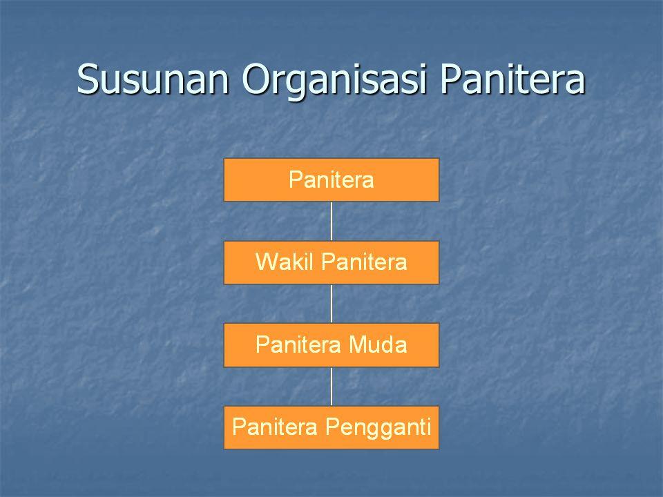 Susunan Organisasi Panitera