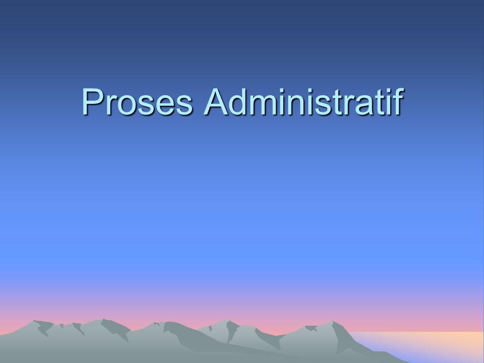 Proses Administratif