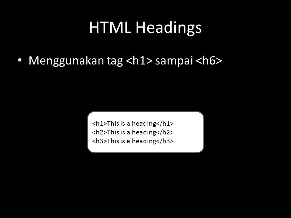 HTML Paragraph Menggunakan tag This is a paragraph This is another paragraph