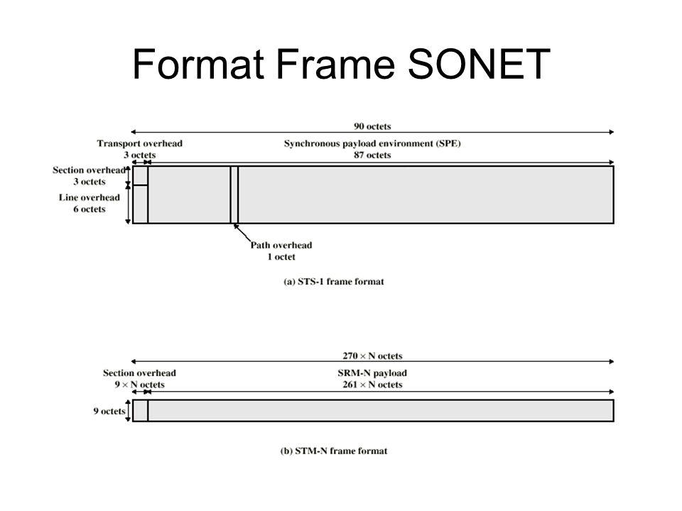 SONET STS-1 Overhead Octets