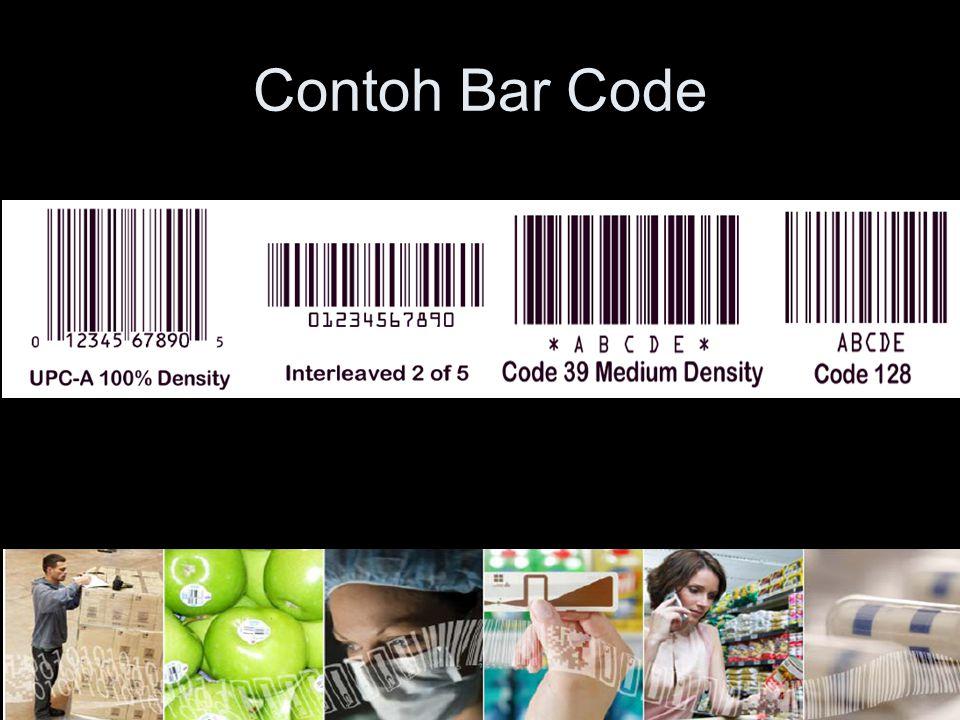 Contoh Bar Code
