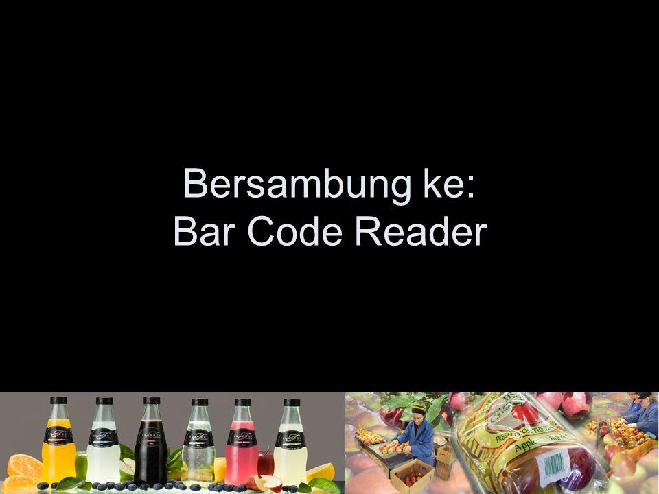 Bersambung ke: Bar Code Reader