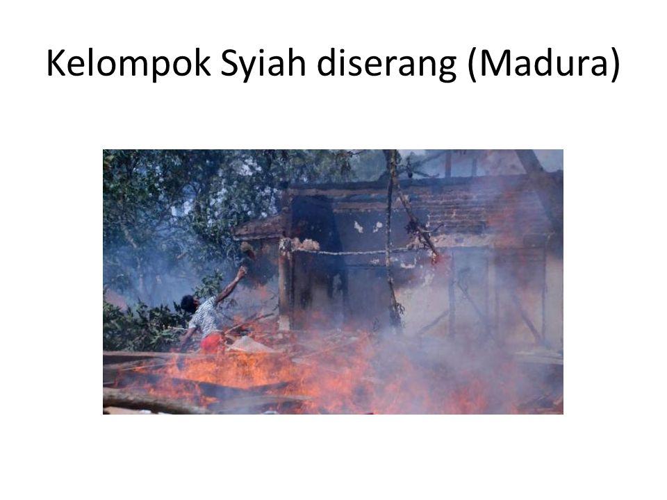 Perbedaan aliran dalam agama Islam Islam: sunni dan syiah Sunni: – Madzab Syafii; Madzab Hanafi – Madzab Hambali; Madzab Maliki Syiah – Madzab Ja'fari – Madzab Ismailiyah – Madzab Zaidah Ada orang Islam yang tidak bermadzab