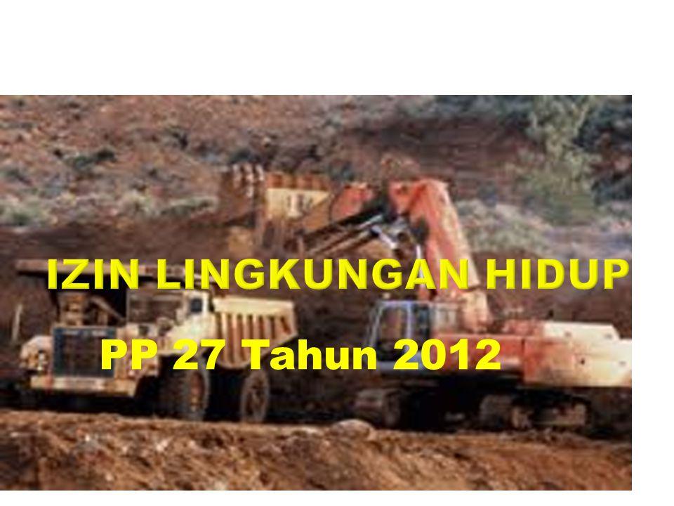 PP 27 Tahun 2012
