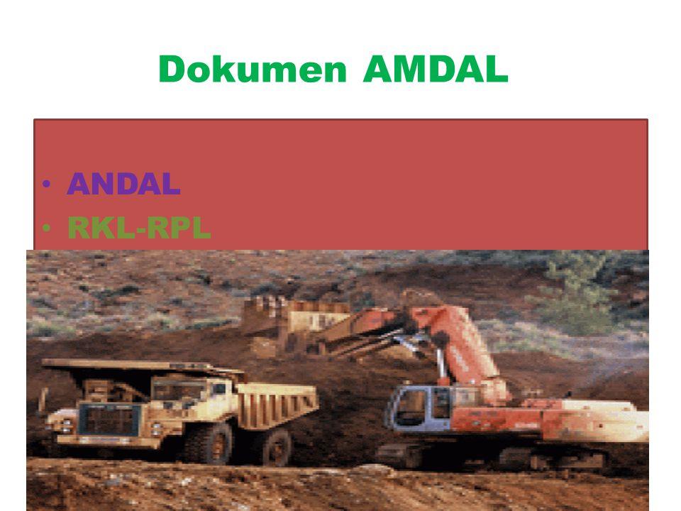 Dokumen AMDAL KA-ANDAL ANDAL RKL-RPL