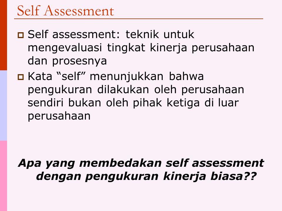 Outline  Definisi  Membuat sistem untuk self assessment  Menginterpretasikan hasil pengukuran  Menguji kriteria Process Documentation Performance