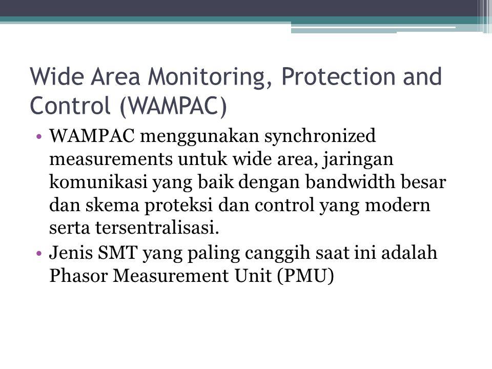 Wide Area Monitoring, Protection and Control (WAMPAC) WAMPAC menggunakan synchronized measurements untuk wide area, jaringan komunikasi yang baik deng