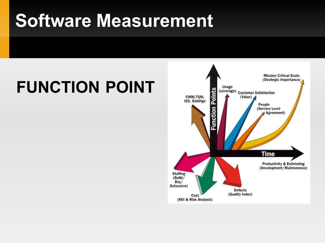 Function Point Dalam Development sebuah perangkat lunak/software terkadang para developer memiliki kesulitan untuk mencari satuan yang dapat mendeskripsikan ukuran dari sofware yang akan dibuat.
