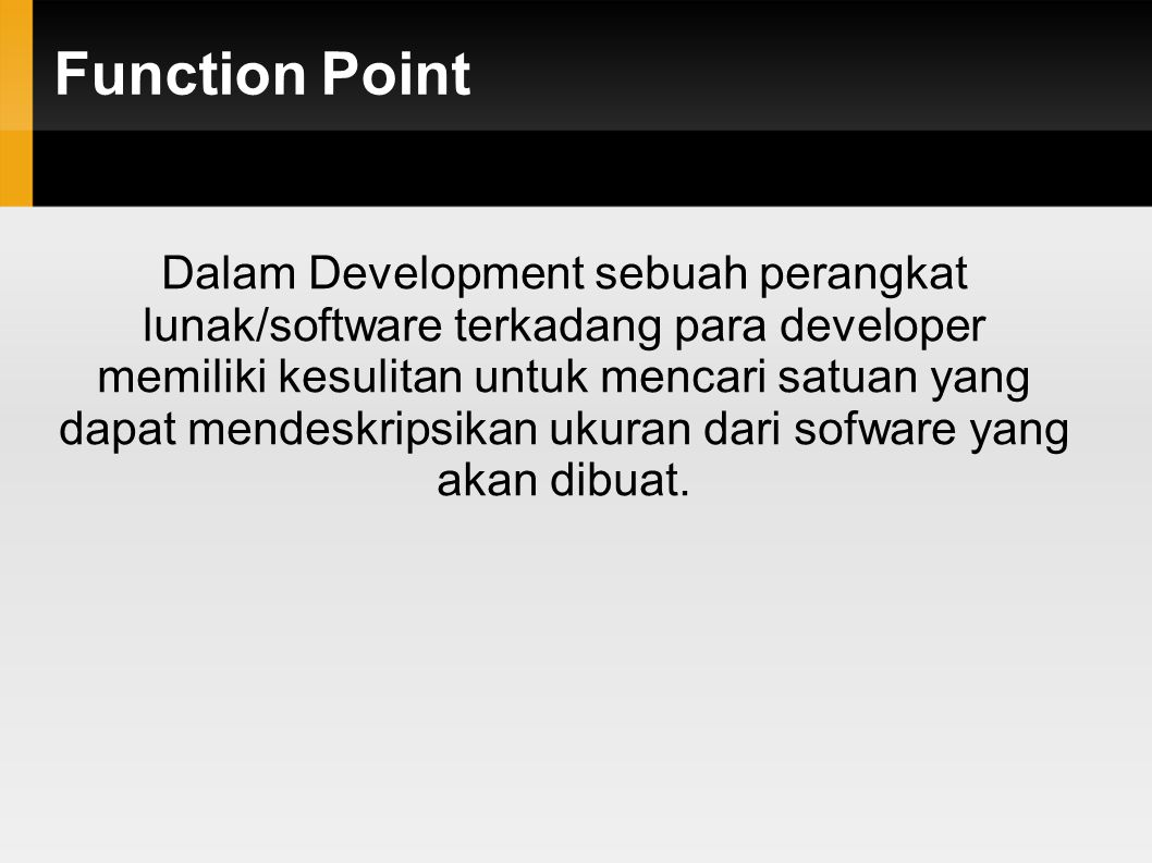 Function Point - Contoh - RCAF TAHAP 2. Menghitung Relative Complexity Adjustment Factor (RCAF)