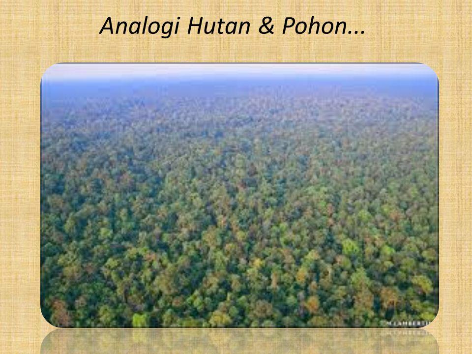 Analogi Hutan & Pohon...