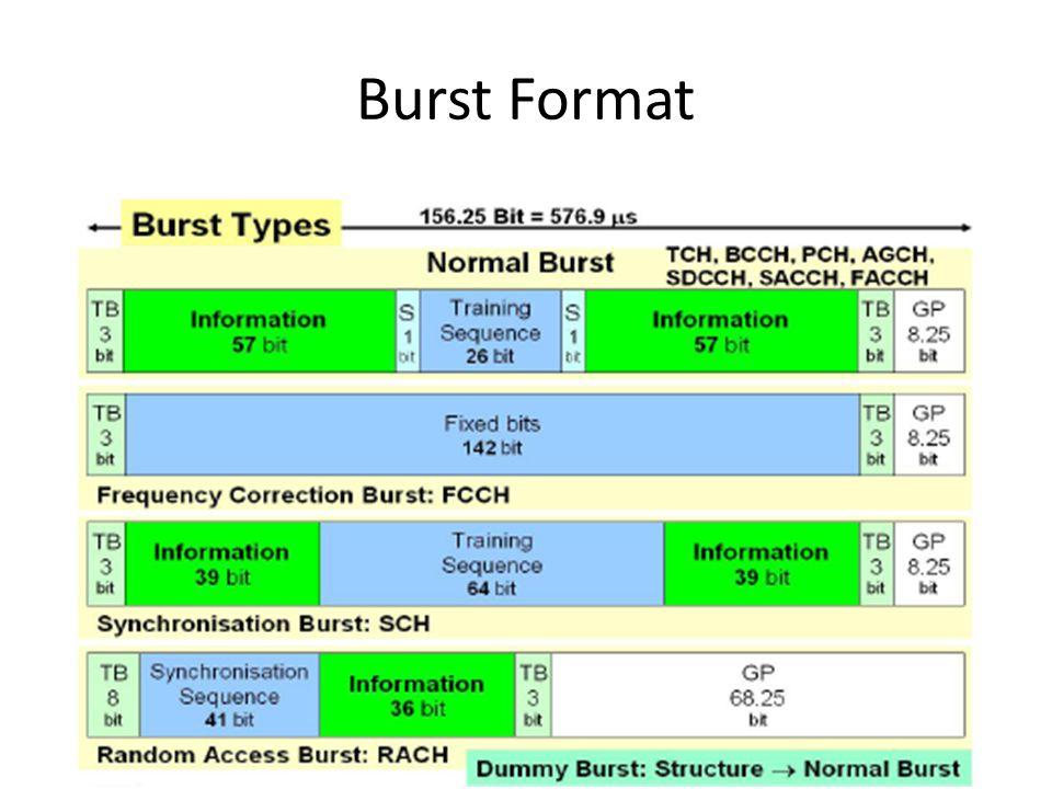 Burst Format