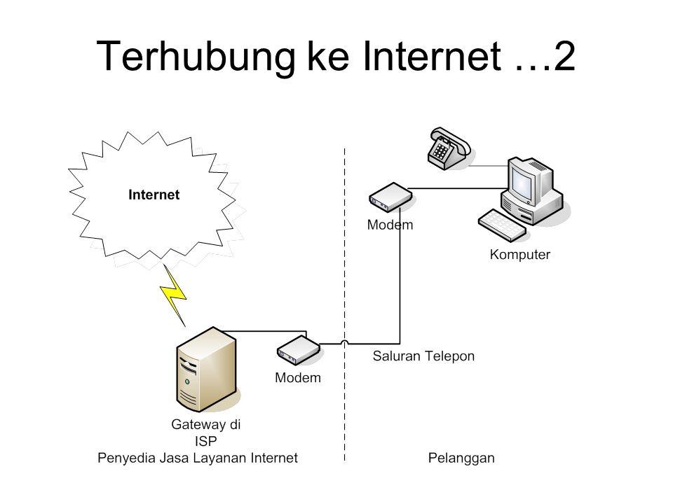 Terhubung ke Internet …2