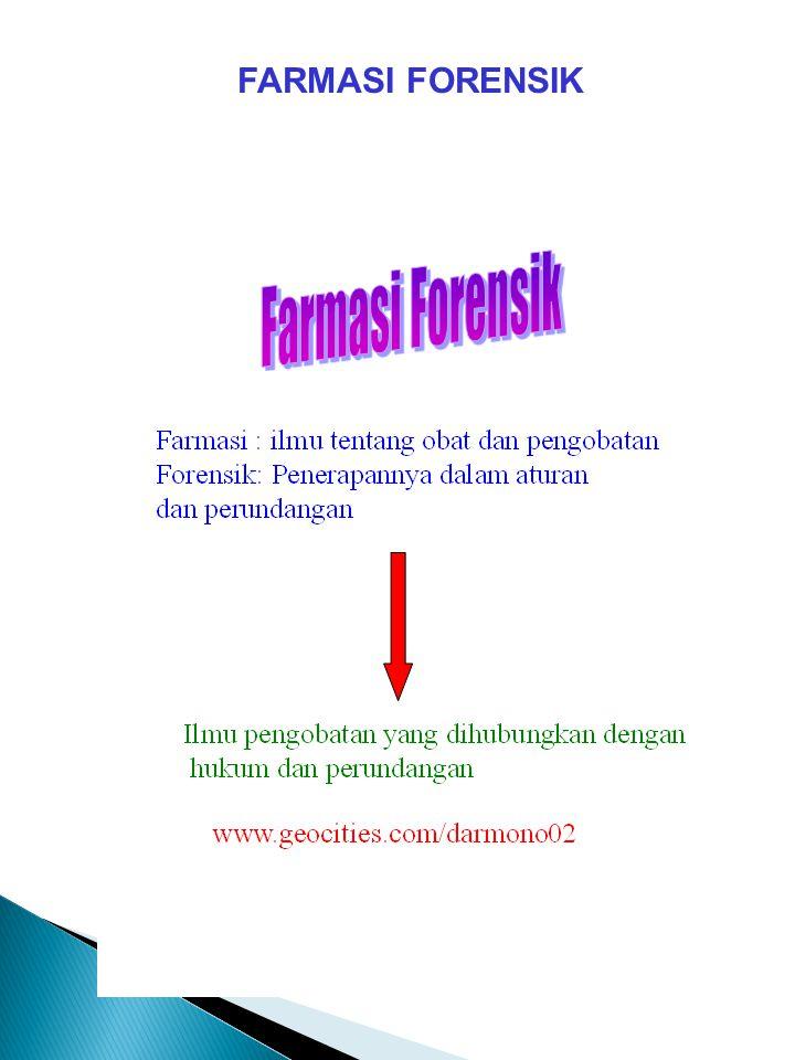 FARMASI FORENSIK