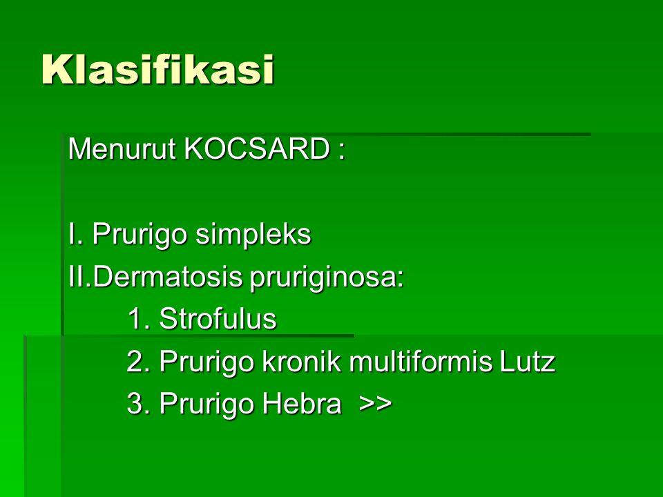 PA :  Penebalan epidermis ( hiperkeratosis, hipergranulosis, akantosis)  Penebalan str.papilaris  Sebukan sel sel radang terdiri limposit, histiosit