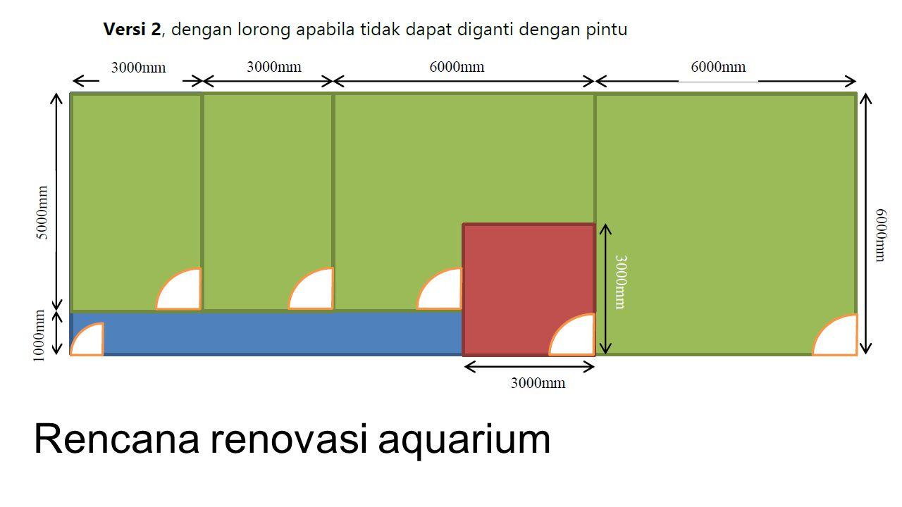 Rencana renovasi aquarium