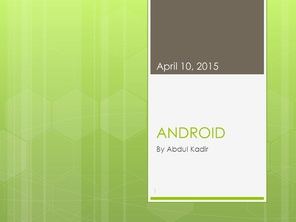 Android Vs Blackberry dari sisi Software April 10, 201511 sistem operasi Android memiliki beberapa keunggulan, diantaranya terdapat banyak pilihan gadget, di mana vendor pendukungnya banyak, jadi pilihan perangkat yang bisa dipilih sangat beragam dengan harga yang bervariasi.