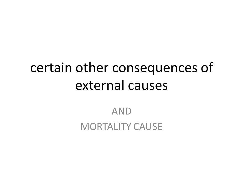 PENYEBAB EKSTERNAL DAN KONSEKUENSINYA Efek penyebab luar yang tidak spesifik, komplikasi trauma dan komplikasi tindakan bedah
