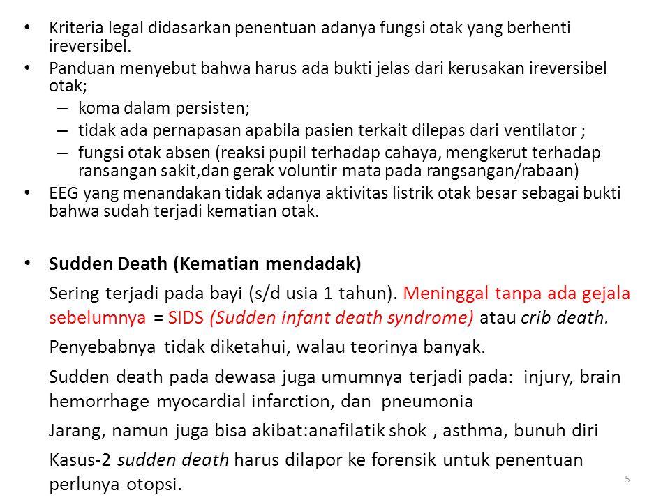 Sertifikat mempunyai 5 bagian bagian (a) dan (b) diisi penyakit atau kondisi janin atau bayi, – yang penting pada (a) -> mempunyai kontribusi terbesar terhadap kematian janin atau bayi.dan yang lain pada (b) bila ada.