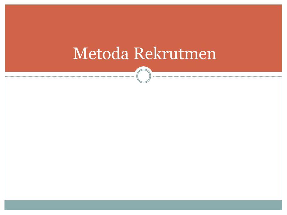 Metoda Rekrutmen