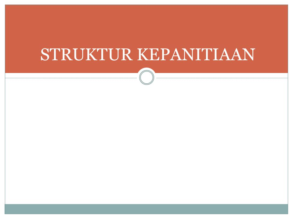STRUKTUR KEPANITIAAN