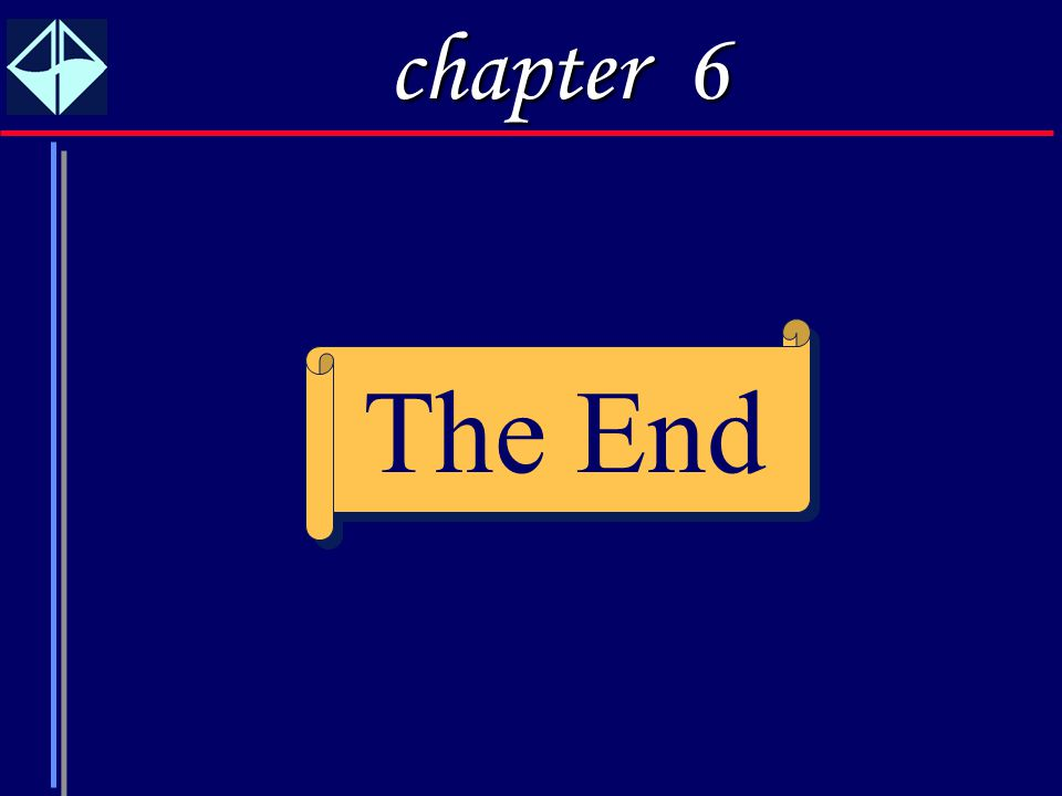 31 The End chapter 6