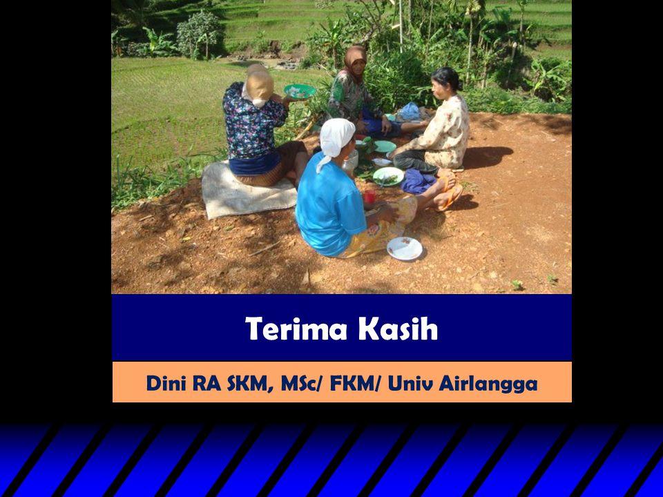 Terima Kasih Dini RA SKM, MSc/ FKM/ Univ Airlangga
