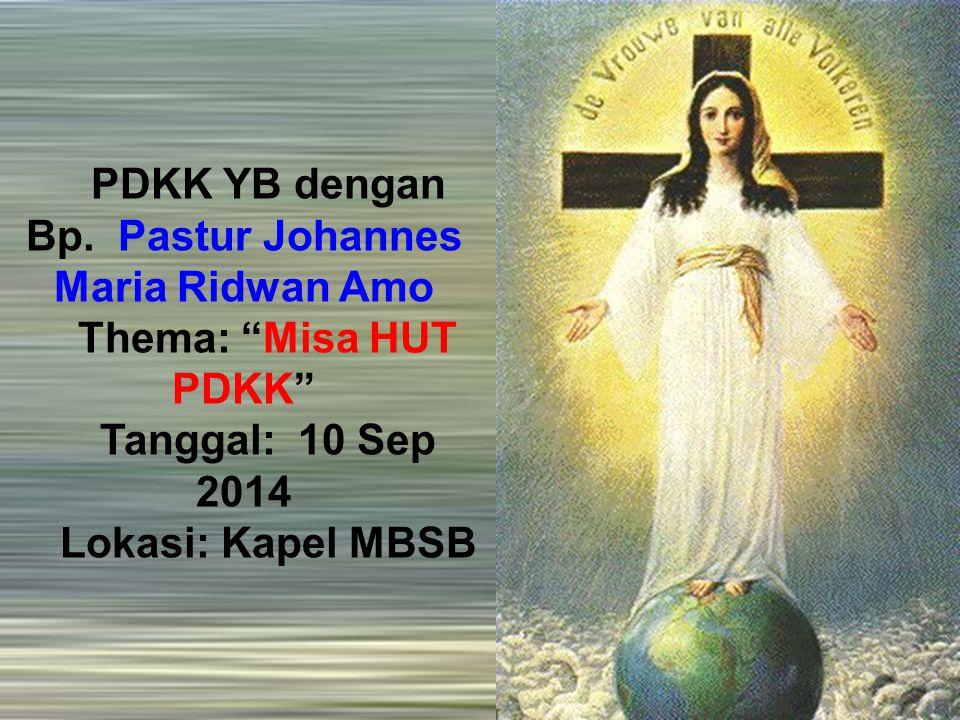 PDKK YB dengan Bp.