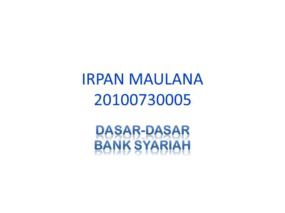 Definisi menurut UU Perbankan Syariah : Bank Syariah adalah Bank yang menjalankan kegiatan usahanya berdasarkan Prinsip Syariah dan menurut jenisnya terdiri atas Bank Umum Syariah dan Bank Pembiayaan Rakyat Syariah