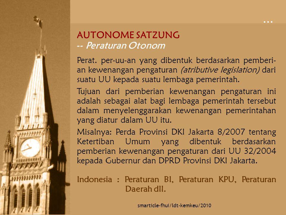 Peraturan Direktur Jenderal Departemen Peraturan Direktur Jenderal Departemen (Perdirjen) merupakan perat.