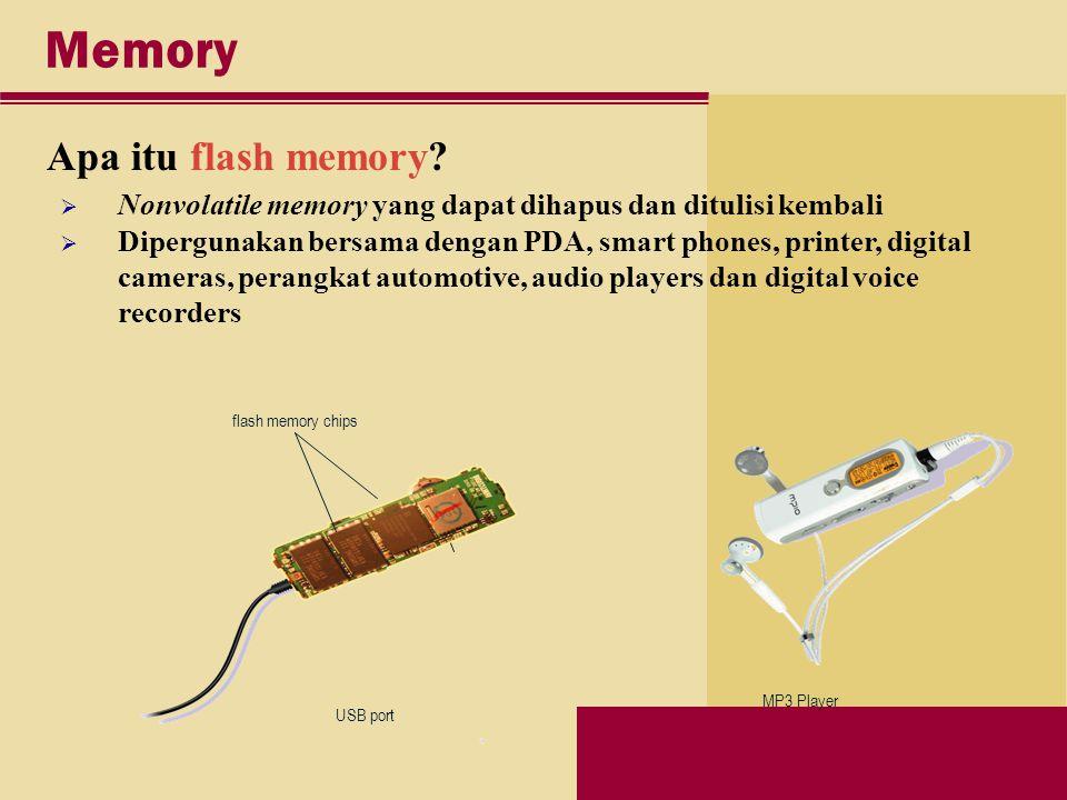 Memory Apa itu flash memory.