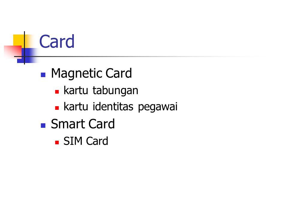 Card Magnetic Card kartu tabungan kartu identitas pegawai Smart Card SIM Card