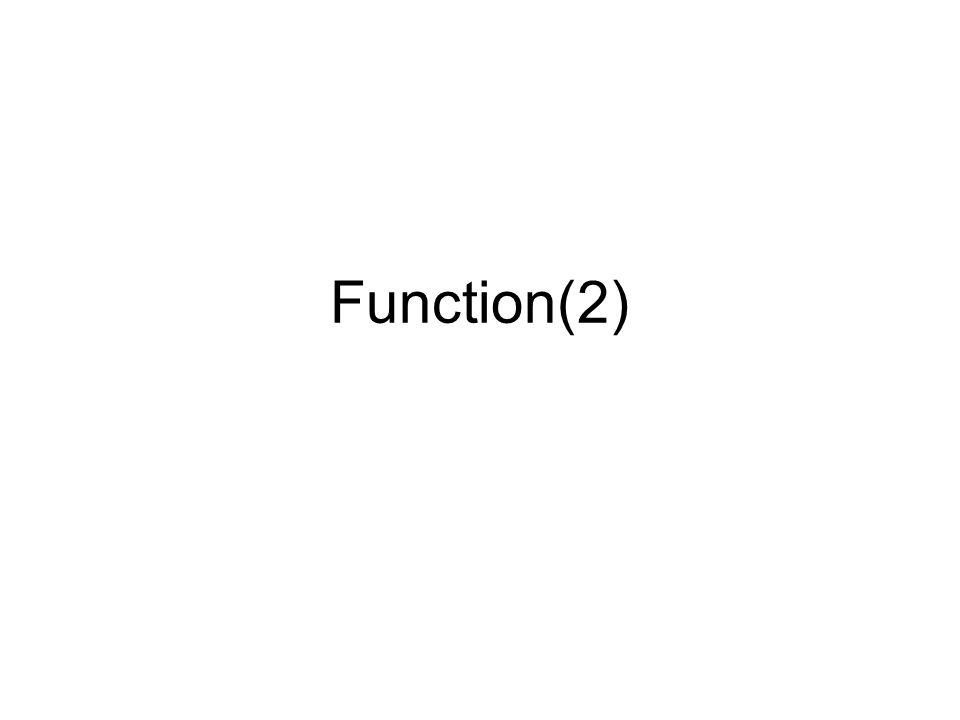 Argumen 'CBR' Output fungsi scanf tsb adalah variabel 'a' Yang dijadikan sebagai argumen sebenarnya adalah referens a (&a) atau alamat a, jadi bukan variabel a itu sendiri Untuk membuat fungsi menjadi CBR, digunakan argumen berbentuk pointer pada header fungsinya.