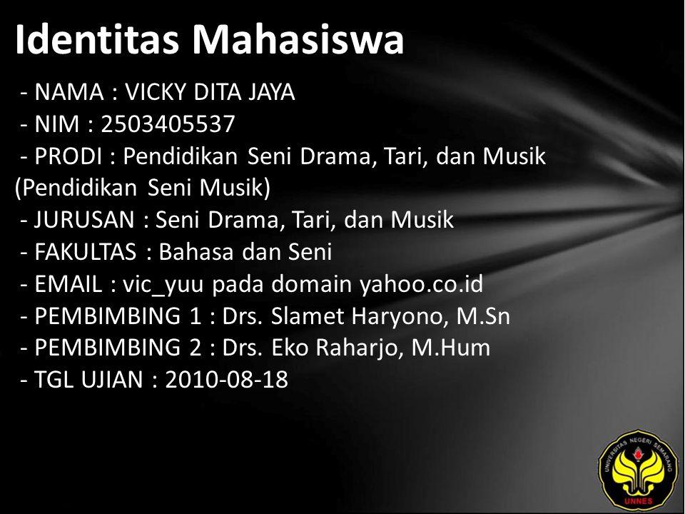 Judul Pembuatan Style Dangdut pada Keyboard Korg PA-Series oleh Yuni Hawari Umnia di Semarang