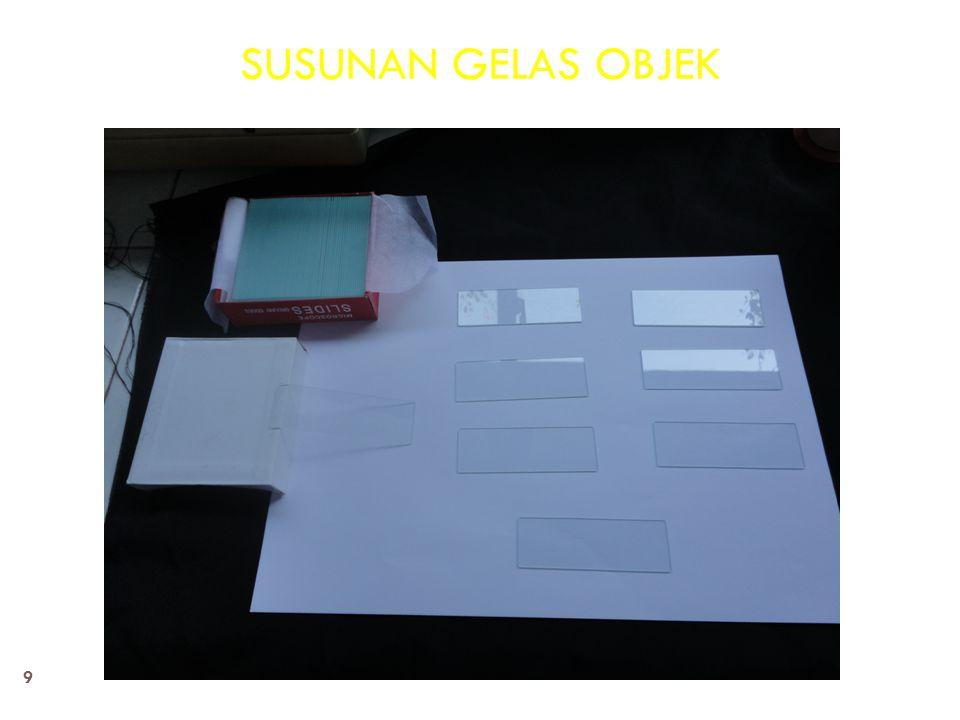 SUSUNAN GELAS OBJEK 9
