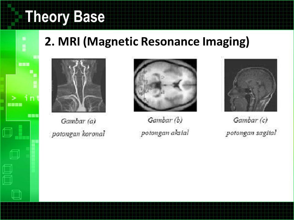 Theory Base 2. MRI (Magnetic Resonance Imaging)