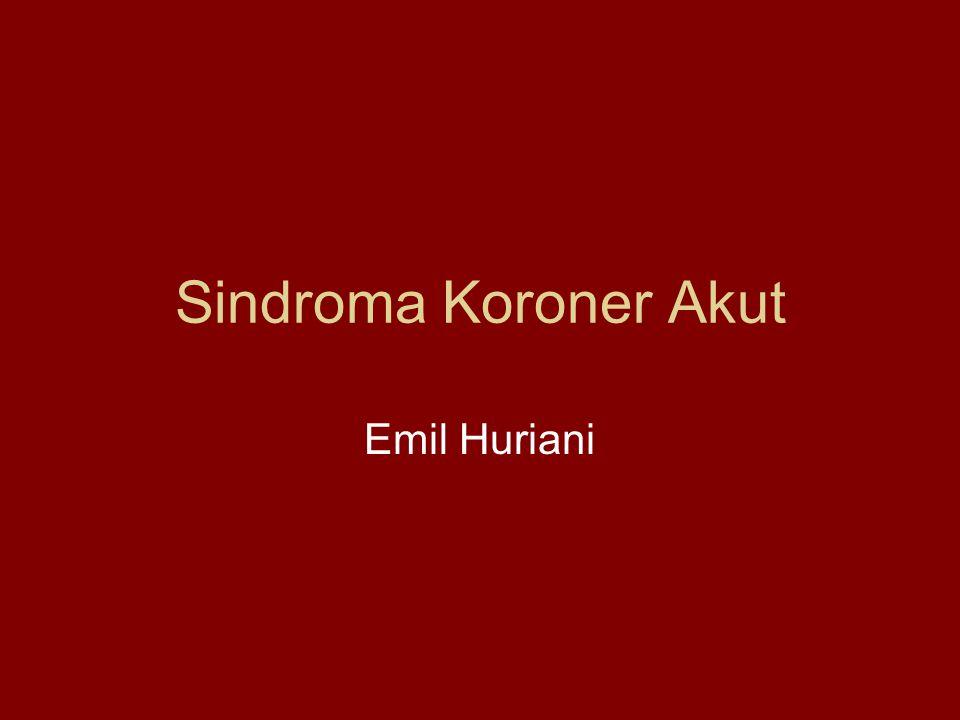 Sindroma Koroner Akut Emil Huriani