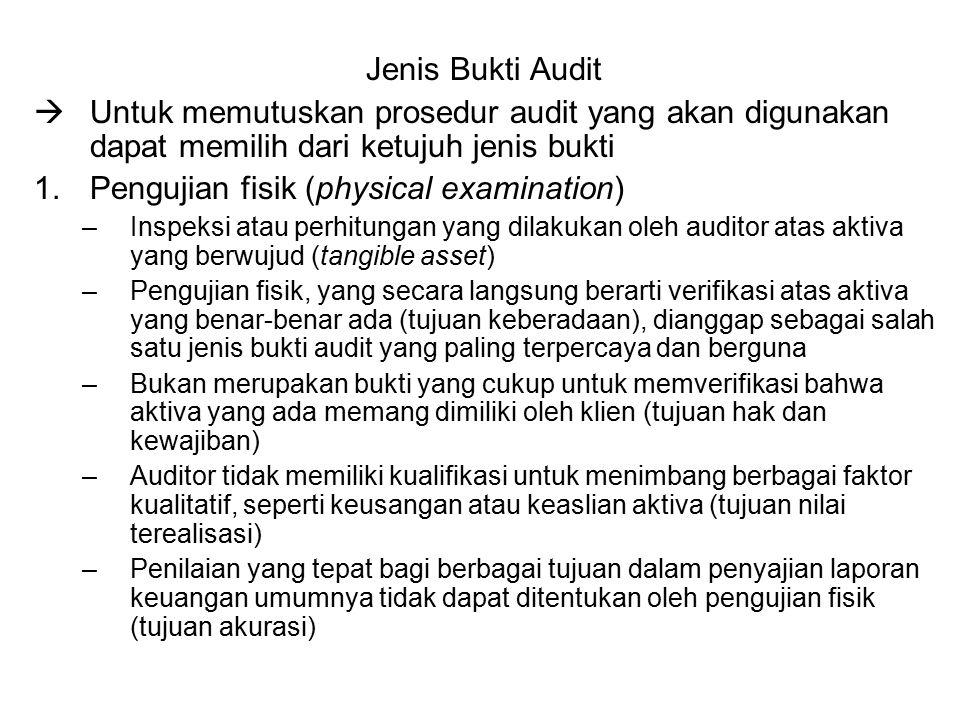 Jenis Bukti Audit 2.