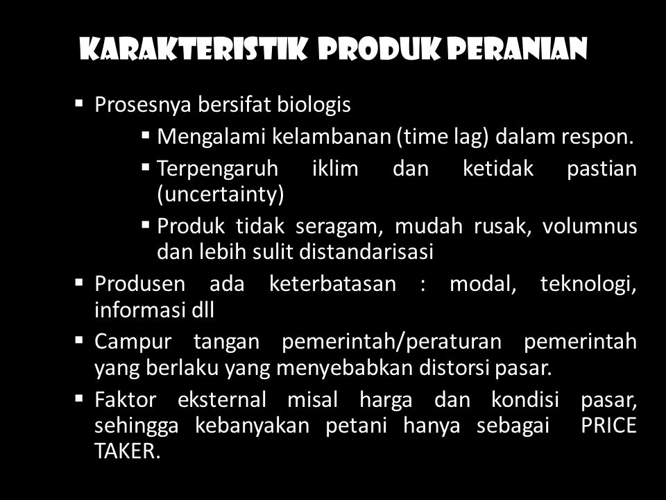 Dalam hubungan input -output dikenal THE LAW OF DEMINISHING RETURN.