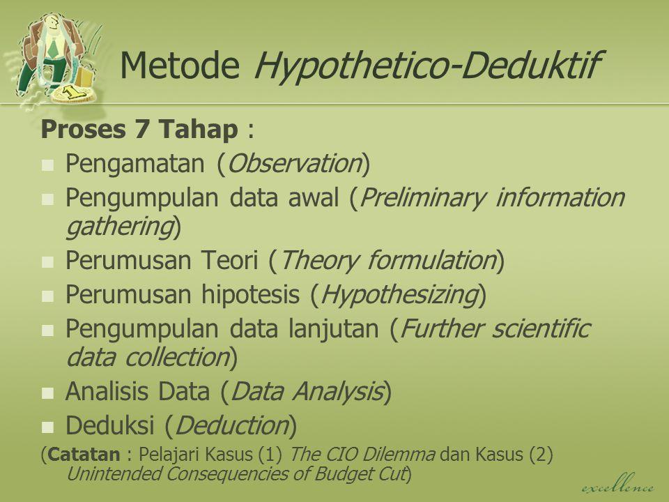 Jenis Penelitian Lainnya Studi Kasus : analisis mendalam dan kontektual pada situasi yg sama dgn ornaisasi lain dimana sifat dan definisi masalah yang terjadi sama dengan yang dialami saat ini.