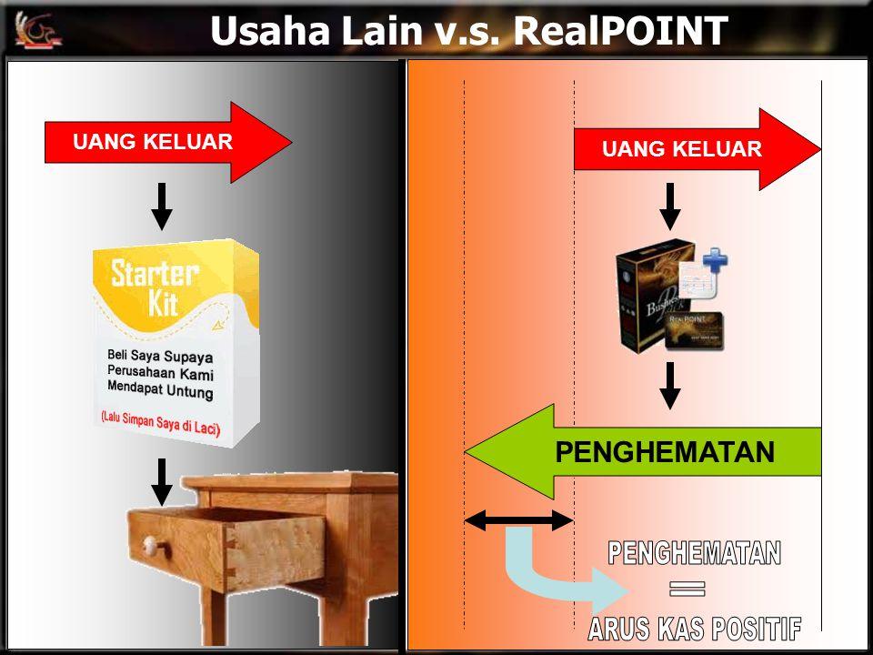 Usaha Lain v.s. RealPOINT UANG KELUAR PENGHEMATAN