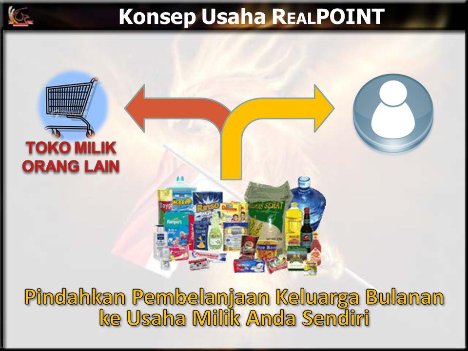 Konsep Usaha R EAL POINT