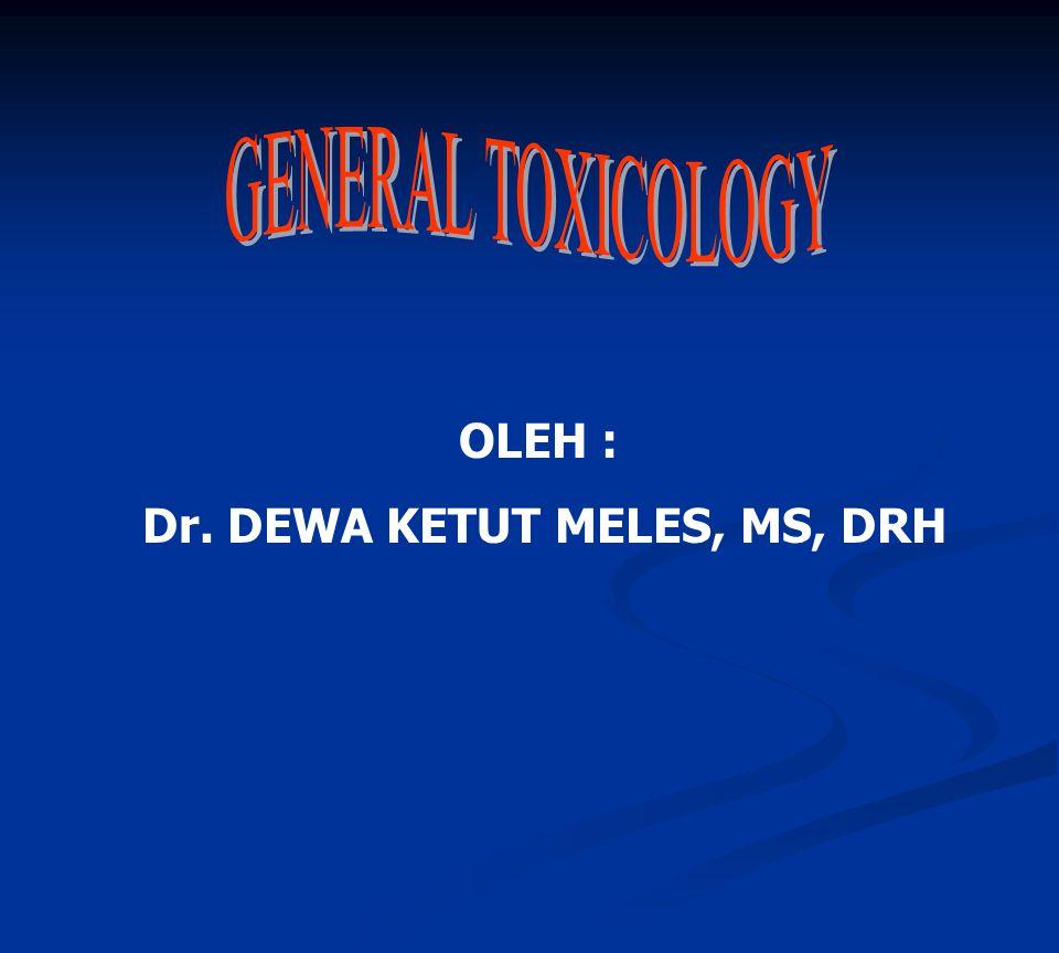 OLEH : Dr. DEWA KETUT MELES, MS, DRH