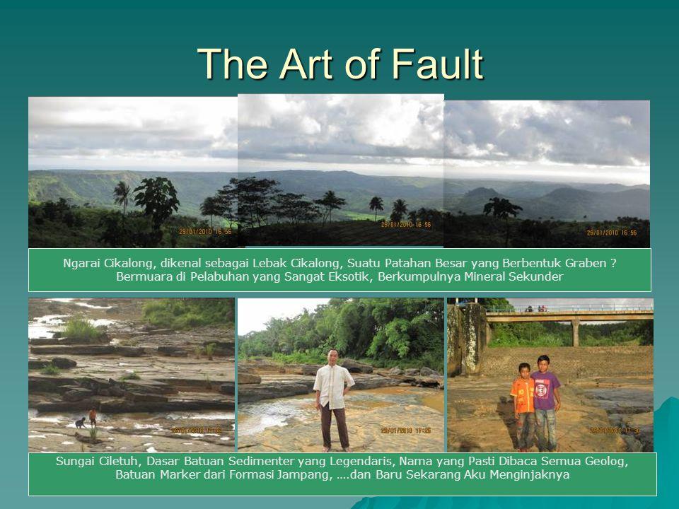 The Art of Fault Ngarai Cikalong, dikenal sebagai Lebak Cikalong, Suatu Patahan Besar yang Berbentuk Graben ? Bermuara di Pelabuhan yang Sangat Eksoti