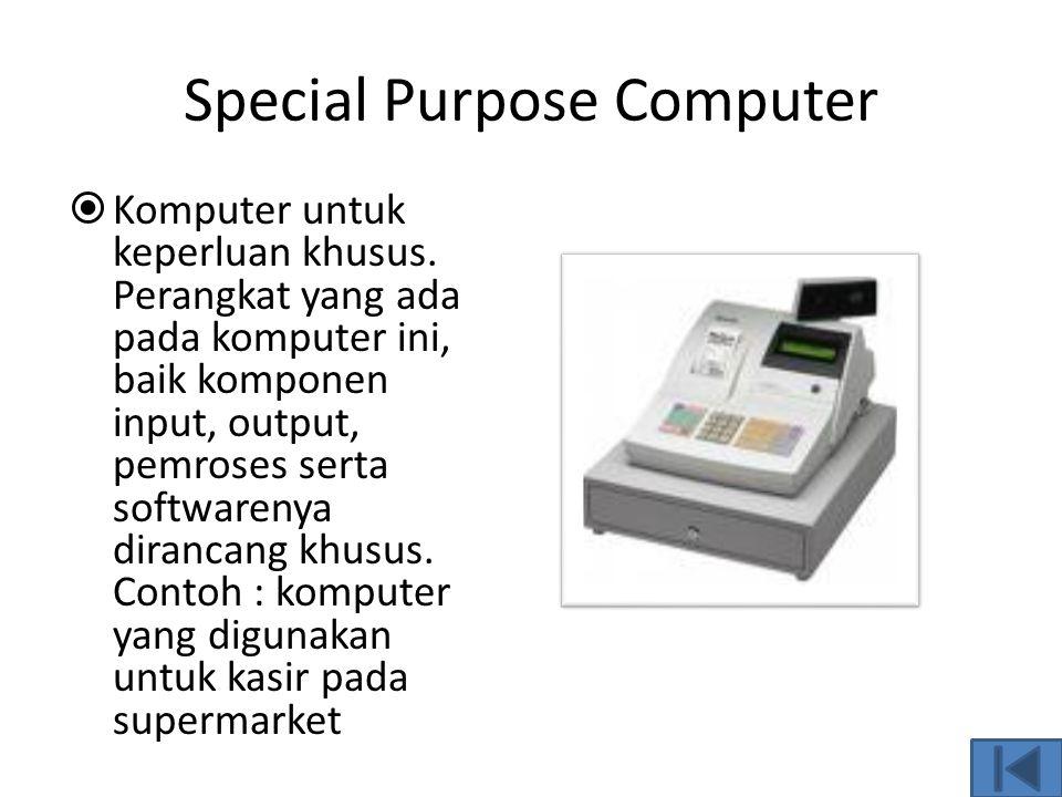 Komputer Hybrid Komputer hybrid merupakan kombinasi antara komputer analog dan digital
