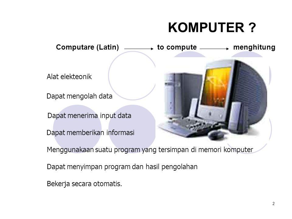 2 KOMPUTER .