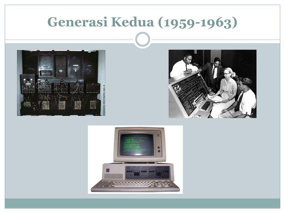 Generasi Kedua (1959-1963)