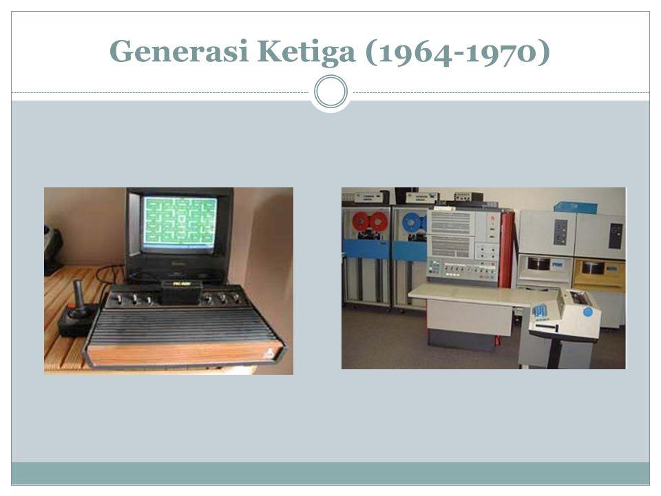 Generasi Ketiga (1964-1970)
